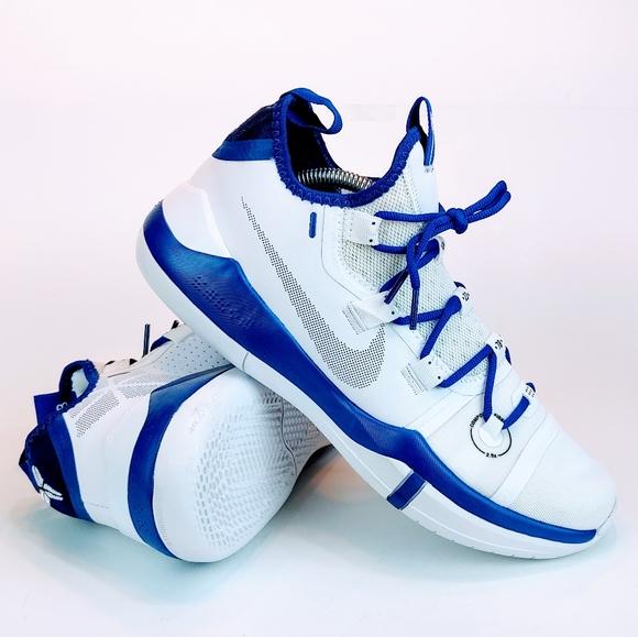 Nike Shoes Nike Kobe Ad Exodus Tb Basketball White Blue Poshmark